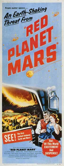 Red Planet Mars - 11 x 17 Movie Poster - Style B