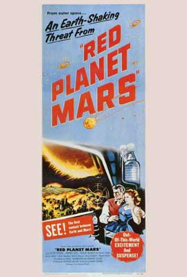 Red Planet Mars - 27 x 40 Movie Poster - Style B