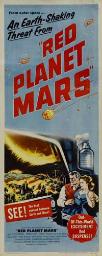 Red Planet Mars - 20 x 40 Movie Poster - Style A
