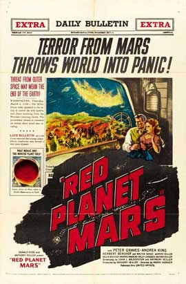 Red Planet Mars - 11 x 17 Movie Poster - Style C