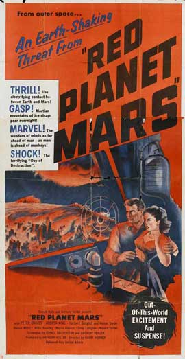 Red Planet Mars - 20 x 40 Movie Poster - Style B