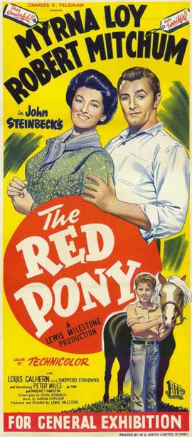 Red Pony - 11 x 17 Movie Poster - Australian Style A