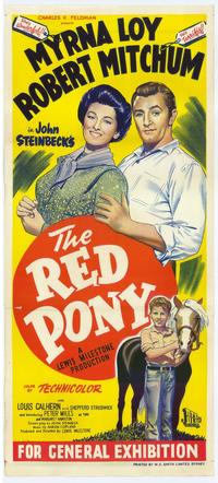 Red Pony - 27 x 40 Movie Poster - Australian Style A