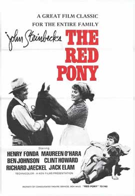 The Red Pony - 27 x 40 Movie Poster - Style A