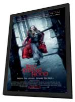Red Riding Hood - 11 x 17 Movie Poster - Style B - in Deluxe Wood Frame