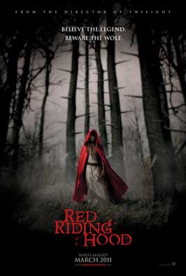 Red Riding Hood - 43 x 62 Movie Poster - Bus Shelter Style B