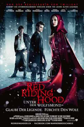 Red Riding Hood - 11 x 17 Movie Poster - Swiss Style A