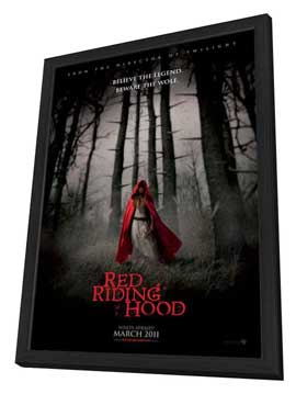 Red Riding Hood - 27 x 40 Movie Poster - Style A - in Deluxe Wood Frame