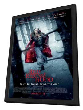 Red Riding Hood - 27 x 40 Movie Poster - Style B - in Deluxe Wood Frame