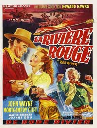 Red River - 11 x 17 Movie Poster - Belgian Style B