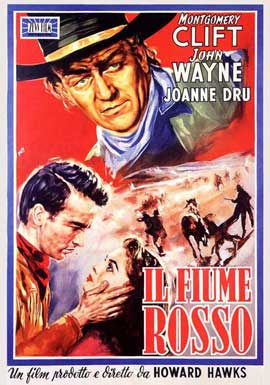 Red River - 11 x 17 Movie Poster - Italian Style A