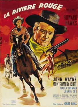 Red River - 11 x 17 Movie Poster - French Style A