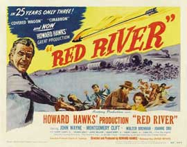 Red River - 22 x 28 Movie Poster - Half Sheet Style A