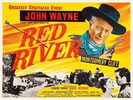 Red River - 22 x 28 Movie Poster - Half Sheet Style B