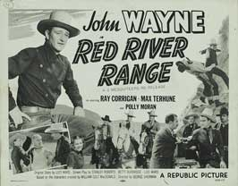 Red River Range - 11 x 14 Movie Poster - Style B