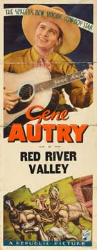 Red River Valley - 14 x 36 Movie Poster - Insert Style B