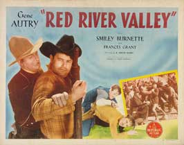 Red River Valley - 22 x 28 Movie Poster - Half Sheet Style A