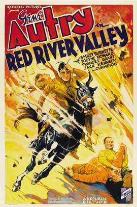 Red River Valley - 27 x 40 Movie Poster - Style B