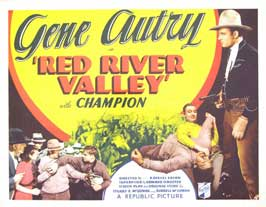 Red River Valley - 11 x 14 Movie Poster - Style C