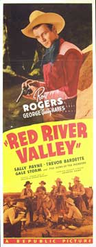 Red River Valley - 14 x 36 Movie Poster - Insert Style A