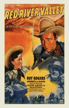 Red River Valley - 11 x 17 Movie Poster - Style A