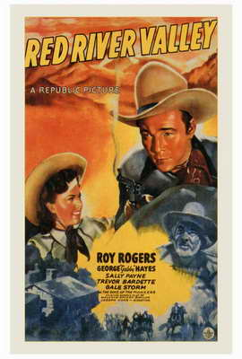 Red River Valley - 27 x 40 Movie Poster - Style A
