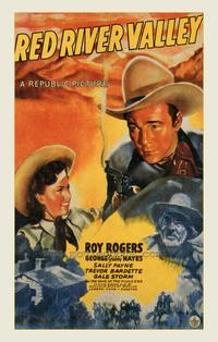 Red River Valley - 43 x 62 Movie Poster - Bus Shelter Style A