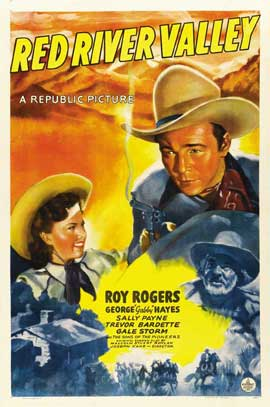 Red River Valley - 11 x 17 Movie Poster - Style C