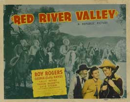 Red River Valley - 22 x 28 Movie Poster - Half Sheet Style B