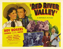 Red River Valley - 30 x 40 Movie Poster UK - Style A