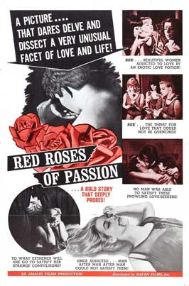 Red Roses of Passion - 11 x 17 Movie Poster - Style A