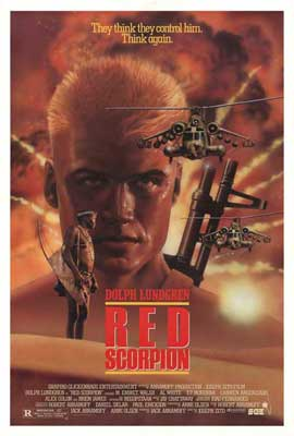 Red Scorpion - 11 x 17 Movie Poster - Style B