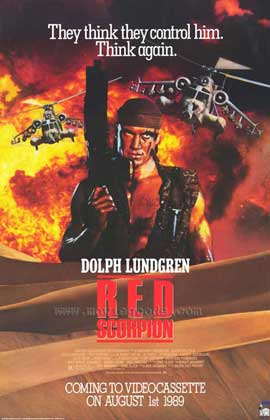 Red Scorpion - 27 x 40 Movie Poster - Style A