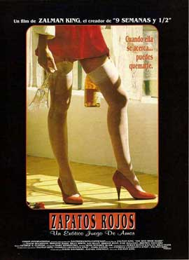 Red Shoe Diaries - 11 x 17 Movie Poster - Spanish Style A