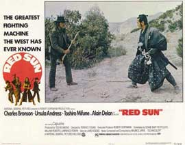 Red Sun - 11 x 14 Movie Poster - Style B