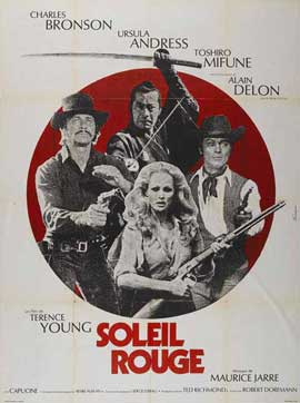 Red Sun - 27 x 40 Movie Poster - French Style A