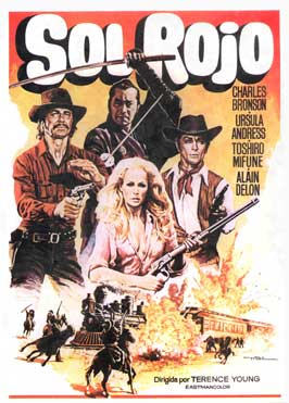 Red Sun - 11 x 17 Movie Poster - Spanish Style A