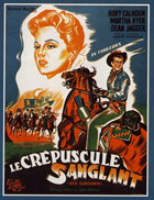 Red Sundown - 11 x 17 Movie Poster - Belgian Style A