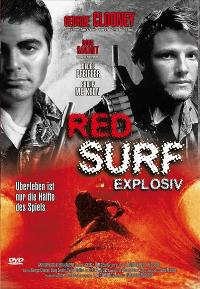 Red Surf - 11 x 17 Movie Poster - German Style A