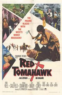 Red Tomahawk - 11 x 17 Movie Poster - Style A