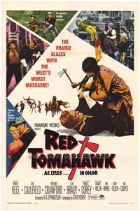 Red Tomahawk - 27 x 40 Movie Poster - Style A