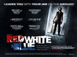 Red White & Blue - 11 x 17 Movie Poster - UK Style A
