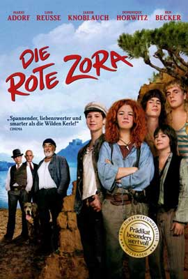 Red Zora - 27 x 40 Movie Poster - German Style B