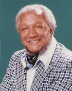 Redd Foxx - Frank Sinatra smiling in Suit and Hat