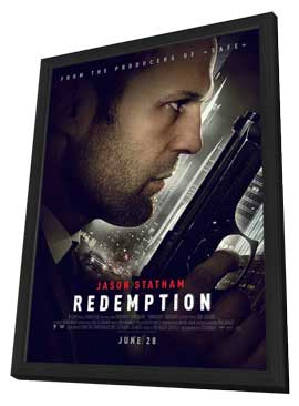 Redemption - 11 x 17 Movie Poster - Style A - in Deluxe Wood Frame