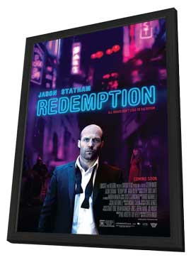 Redemption - 11 x 17 Movie Poster - Style B - in Deluxe Wood Frame