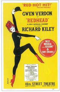 Redhead (Broadway) - 11 x 17 Poster - Style A