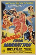 Redhead from Manhattan - 11 x 17 Movie Poster - Style A