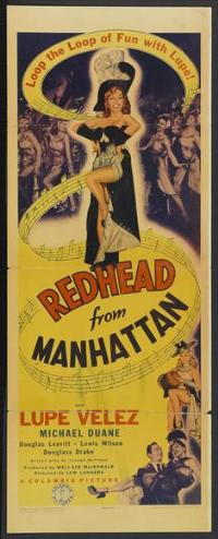 Redhead from Manhattan - 14 x 36 Movie Poster - Insert Style A