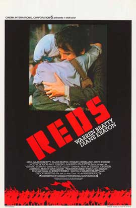 Reds - 11 x 17 Movie Poster - Belgian Style A